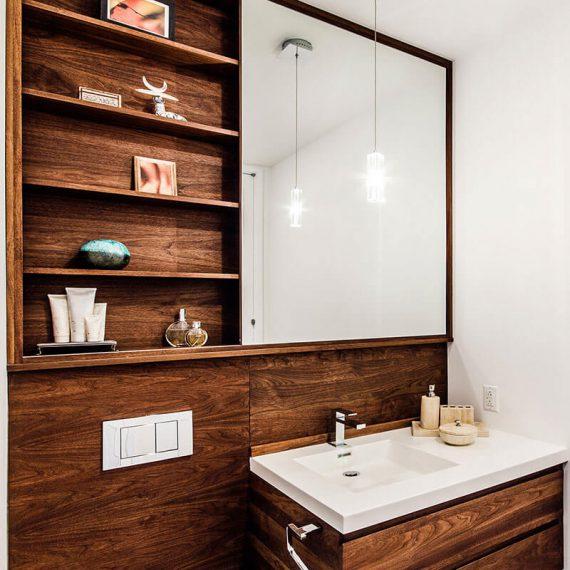 meuble sur mesure salle de bain
